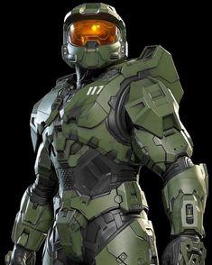 Halo Master Chief, Master Chief And Cortana, Armadura Sci Fi, Foto Batman, Halo Poster, Halo Drawings, Halo Figures, Halo Armor, Halo Spartan