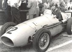 #2 Jacques Swaters (B) - Ferrari 500 (Ferrari 4) engine (14) Ecurie Francorchamps