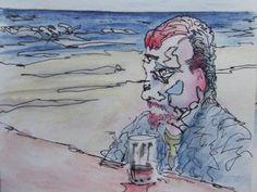 pete holbrook - on the beach
