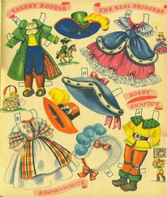 Dolls from Storyland Merrill #1554 1948 uncut book - Bobe Green - Picasa Web Albums