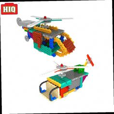 41.70$  Watch here - http://alivfj.worldwells.pw/go.php?t=32685655209 - RC Toys Electric Building Blocks Remote Control Helicopter Robot As Arduino Educational 2 in 1 Kits Assemble Toys For Children