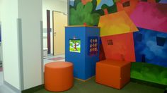 Kącik dla dzieci w centrum medycznym
