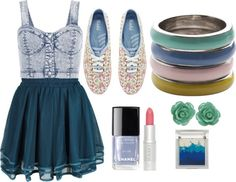 """""""blue rang"""" by miriam-robles-r on Polyvore"""