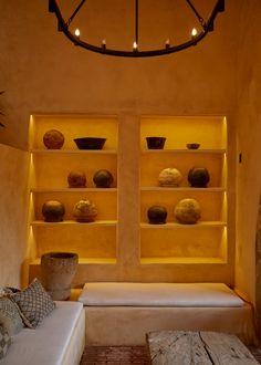 Photo gallery of Hotel Escondido Oaxaca in Oaxaca - Design Hotels™ Boutique Design, A Boutique, Underground Bar, Small Boutique Hotels, Spa Design, Design Hotel, Bohemian Room, Covered Pergola, Brutalist