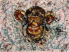 """Erokhin Valery on Twitter: """"Сунь Укун (孫悟空) Царь обезьян (Sun Wukong monkey King), 40х30, acrylic on canvas on cardboard, 2015,artist Y.Erokhina https://t.co/I1EOWzRChb"""""""