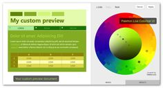 Colorizer preview Great way to pick & preview monochromatic color palettes