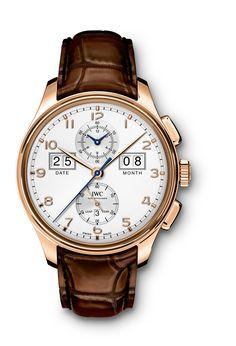 "#IWC Portugieser Perpetual Calendar Digital Date-Month Edition ""75th Anniversary""  Rose Gold #Watch"