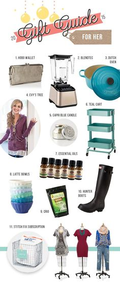 Gift ideas. Must Have Gifts for the Women in Your Life