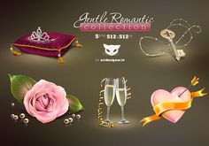 Fentle Romantic Collection | Free Vector Graphic Download