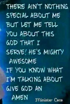 Amen, thanks be to God!