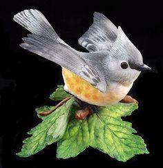 Lenox Garden Birds: Tufted Titmouse, 1986