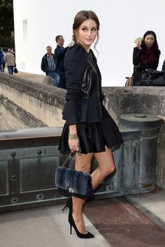 shoe for every killer outfit. Olivia Palermo knows how to wear a pair of pumps.Olivia Palermo knows how to wear a pair of pumps. Estilo Olivia Palermo, Olivia Palermo Outfit, Olivia Palermo Lookbook, Olivia Palermo Style, Star Fashion, Look Fashion, Paris Fashion, Daily Fashion, Fashion Shoes