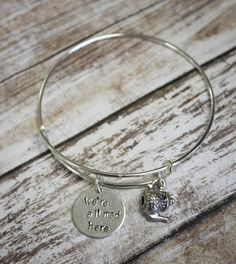 Alice in Wonderland Adjustable Bracelet