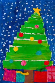 Christmas crafts for slightly older kids (8-12). There are a couple of pages.. they're a very crafty family.