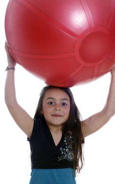 Stability Ball Exercises for Children