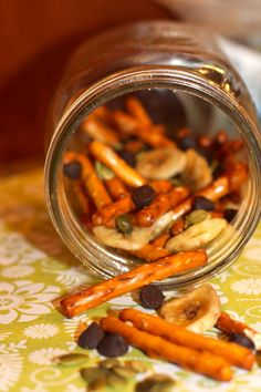 Homemade Trail Mix by registered dietitian Kate Scarlata