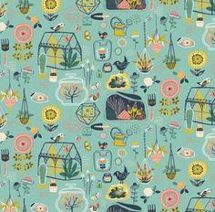 Garden Pattern - Miriam Bos