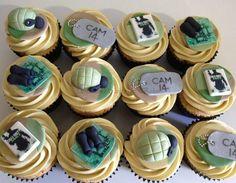 Modern warfare3 cupcakes