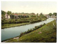 [Allington Castle and river, near Maidstone, England]  (LOC)