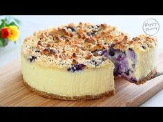 Blueberry Yogurt Cake, Blueberry Crumble, Blueberry Cheesecake, Mini Cheesecakes, Pastry Cake, Queso, Mousse, Cheese Cakes, Bread