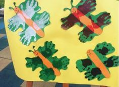 Handprint animal craft idea for kids | Crafts and Worksheets for Preschool,Toddler and Kindergarten
