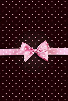 Pink Bow Wallpaper.