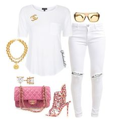 Simple but Cute, minus that necklace