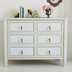 The Emily & Meritt Royal Wide Dresser #pbteen