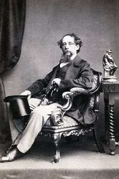 Charles Dickens, 1862-  I've really enjoyed all the Charles Dickens' excerpts we've been reading in class.  I think he paints a really interesting and honest portrait of England, and I'm excited to start reading my recent purchase, A Tale of Two Cities.