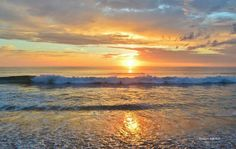 Outer Banks NC Local Artists Facebook post 4/30/15:  Sunrise Nags Head,  NC.  Photographer credit: Barbara Ann Bell.