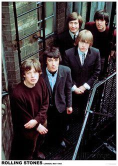 Rolling Stones – London 1965 ポスター