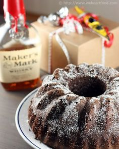 makers mark chocolate cake. make it as cupcakes w/ salted caramel frosting (next pin). Holy cow.