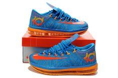 d718dd6af218 Nike KD 6 Elite Team Orange OKC Blue Hero