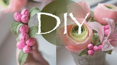 A very simple way to make roses from paper Paper Flower Garlands, Tissue Flowers, Paper Flowers Craft, Crepe Paper Flowers, Flower Crafts, Diy Flowers, Fabric Flowers, Giant Flowers, Paper Crafts