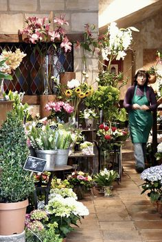 Flower shop by rekatot, via Flickr
