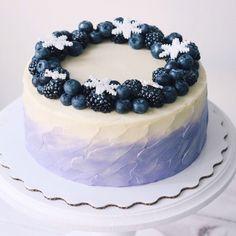 I Cream Cake . I Cream Cake . Pretty Cakes, Cute Cakes, Beautiful Cakes, Yummy Cakes, Amazing Cakes, Bithday Cake, Decoration Patisserie, Gateaux Cake, Painted Cakes