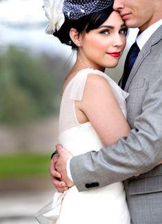 Beautiful vintage wedding...      http://www.bradypuryearblog.com/2012/03/planes-of-fame-museum-wedding-janice-and-tom/