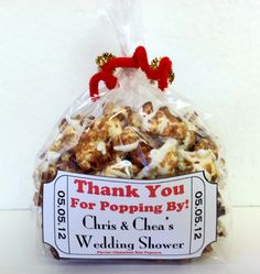 Popcorn Favor and Tag.. Is it too corny?? (Hee hee. See what I did there?!) :)