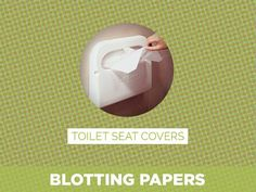 Lipstick Fights Under-Eye Circles? This & Other Weird Tips From Beauty Bloggers Toilet Seat Covers = Blotting Papers