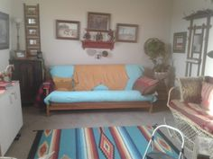 Carols Retirement Tiny Home 002 Built In Storage, Retirement, Tiny Houses, Couch, Small Homes, Furniture, House Ideas, Home Decor, Settee