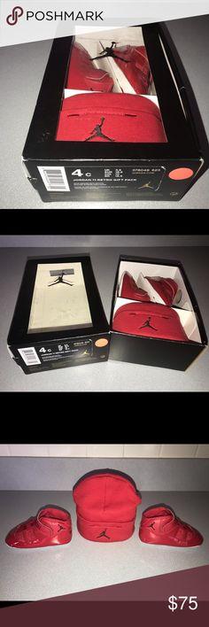 "64effd59dc7 Air Jordan Retro 11 ""Win Like 96"" Infant Gift Set Used-Like New"