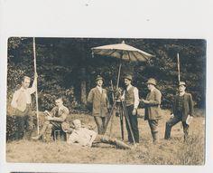 Vintage Real Photo Postcard of Surveyor and Geometer Year 1913 | eBay
