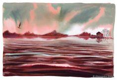 "Alessandro Sanna «The River»   ""Картинки и разговоры"""