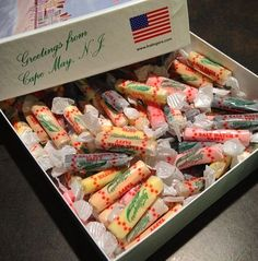 Our salt water taffy is made in the USA!