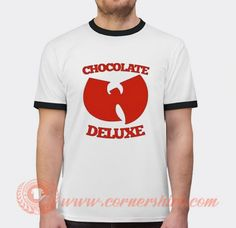 Wu Tang Ice Cream Chocolate Deluxe T-shirt Price: 17.00 & FREE Shipping #givesforfriend Custom T, Custom Design, Popular Clothing Stores, Wu Tang, Shirt Price, Tango, Ice Cream, Chocolate, Free Shipping