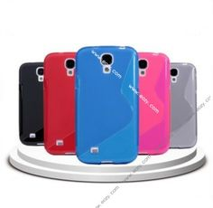 For SAMSUNG Galaxy S4 i9500 S-Line Wave Soft Anti-skid Phone Cases Covers Skins