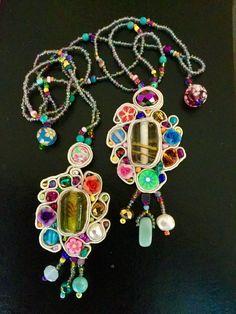 Soutache pendants www.dvmjewellery.com Soutache Pendant, Stills For Sale, Sell Items, Pendants, Jewelry, Jewels, Pendant, Schmuck, Jewerly