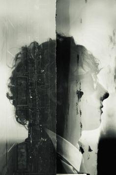 Broken Negative - Double exposure by Gabrial Deacon