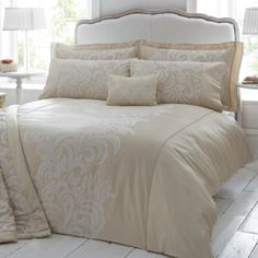 Dorma Gold Versailles Bedlinen Collection #dunelm #pinittowinit