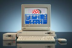 KKOMPUTER — Perfectly 3D rendered Commodore Amiga 1000 This...
